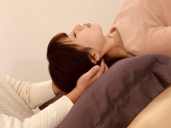 肩こりや頭痛の治療