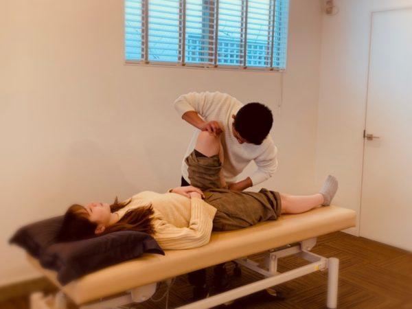 膝痛に対する徒手療法